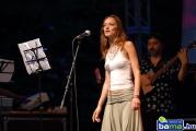 SZALÓKI Ági - ének, HUSZÁR Mihály - bass
